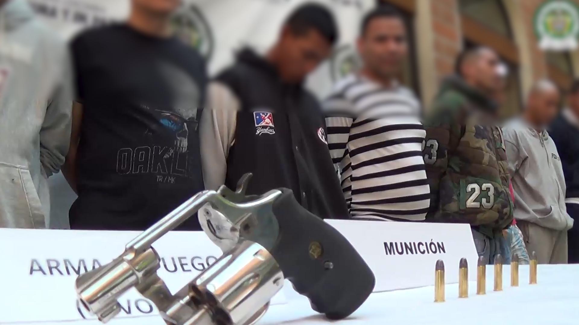 """Capturados 15 presuntos integrantes de """"Los Chivos"""" y """"Altavista"""""""