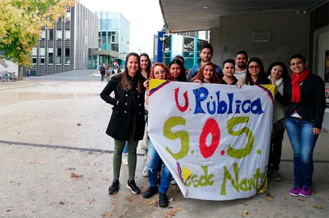Marchas estudiantiles de U públicas 10 de octubre