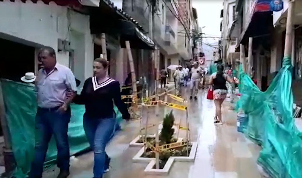 Inversión de 1.600 millones para calle del comercio en Barbosa