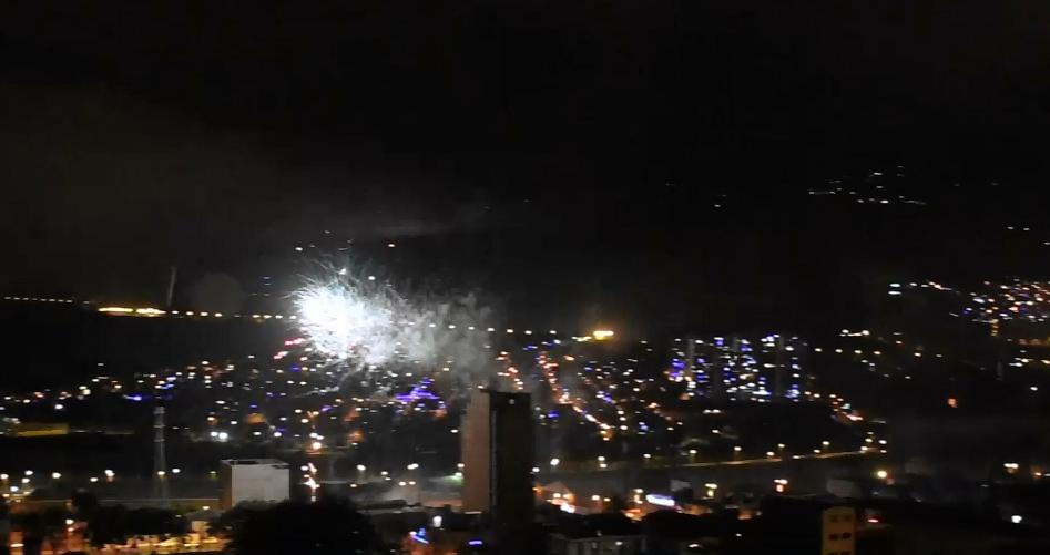 Menor intoxicada con pólvora en Medellín